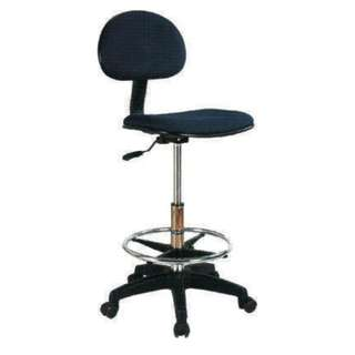 Drafting chair fabric seat and back - LC02GRC