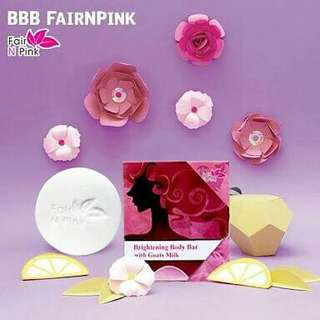 Sabun Fair N Pink BBB With Goat Milk ( Brightening Body Bar )