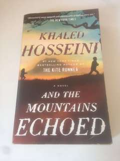 Preloved books: And the mountains echoed