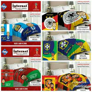 Selimut world cup limited edition