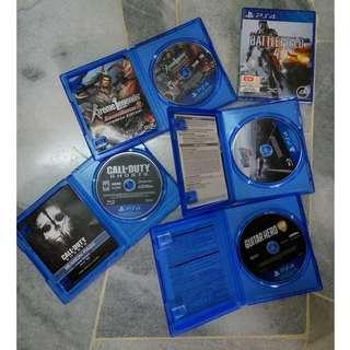 PS4 games x 5