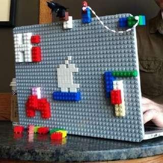 Brik Book Lego 樂高積木 Apple Macbook保護殼