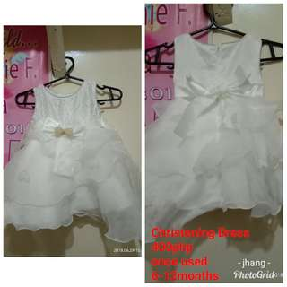 Pre loved baptismal dress