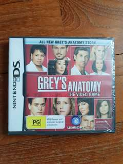 Grey's Anatomy DS game