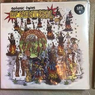 Vinyl Record 004 OF MONTREAL -Satanic Twins Sealed Vinyl
