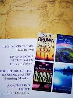 Reader's Digest (four novels)