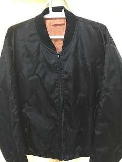 Black Bomber Jacket Zara Camo Blue Long sleeves