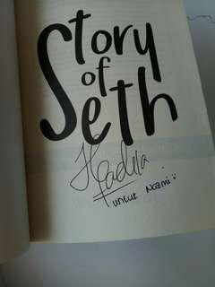 Story of Seth Wulan Fadi Bertandatangan