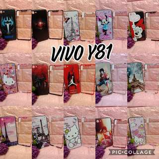 Case with tempered Vivo Y81