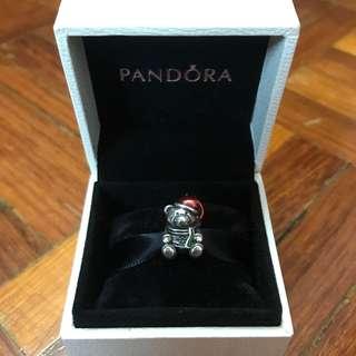 Pandora Charm (Christmas Teddy Bear)
