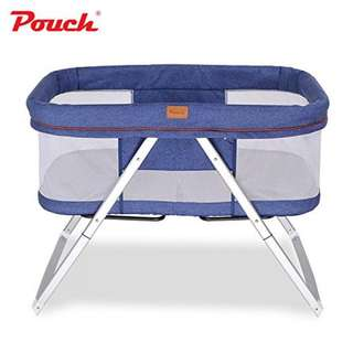 Baby foldable crib + rocker