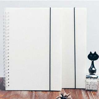 PO ; Muji A5/A6/B5 Dotted / Grid Notebooks