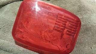 絕跡紅囍皂盒