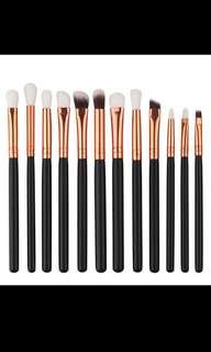 [✨PO] 12 piece make up brush set
