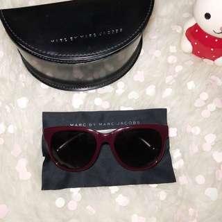 MARC BY MARC JACOBS Sunglasses Eyewear - MMJ325 (Opal Burgundy)