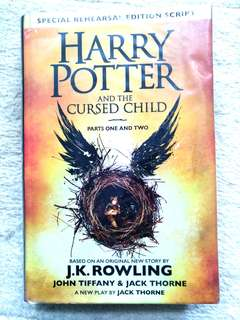 Harry Potter and the Cursed Child 精裝版 正版