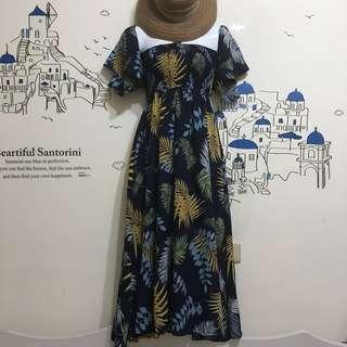 🚚 ❤️夏日花卉洋裝