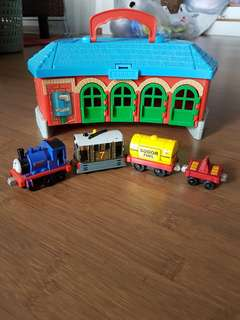 Thomas And Friends Take Along Train Station