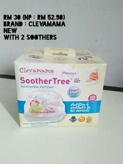 Clevamama soother stirilizer - microwave