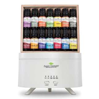 Plant Therapy 7 & 7 Aromafuse Gift Set Diffuser with 14 bottles Essential Oil