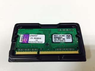 Kingston DDR3(兩個)