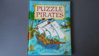 Usborne Young Puzzles Puzzle Pirates
