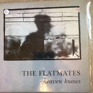 Vinyl records 008 THE FLATMATES heaven knows