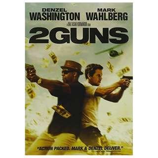BRAND NEW DVD - 2 GUNS (ORIGINAL USA IMPORT CODE 1)