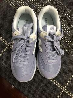 🚚 全新 New balance 574 馬卡龍紫 復古球鞋