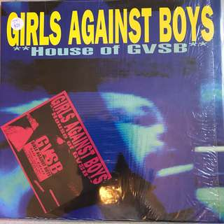Vinyl Lp records 009 GIRLS AGAINST BOYS