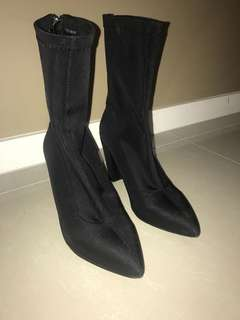 Sock boots size 9