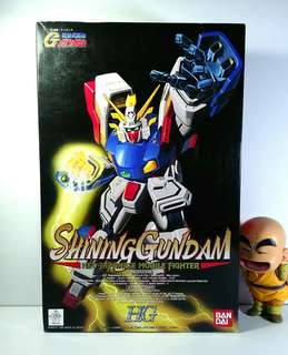Authentic Bandai Shining G Gundam  HG 01 gunpla model kit japan toy