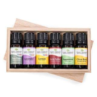 Plant Therapy Cleaning Set 6 bottles Essential Oil