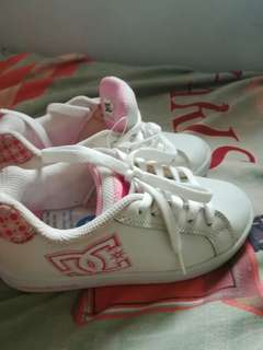 Authentic DC sneakers