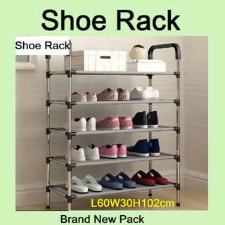 Shoe Rack - Stainless Steel Rack - Rack / Shelf / Stand - Brand New Pack