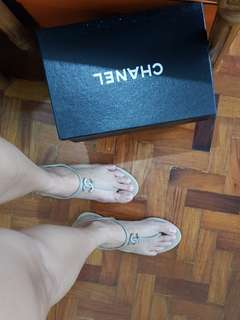 Chanel thongs sandals