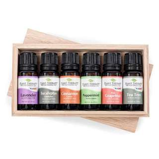 Plant Therapy Essential Oil Gift Set #3 (6 bottles)