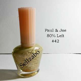 8/10 Paul & Joe Tinted Brown Colour Nails Polish Finger Fingernails Toes Manicure Pedicure Care Sellzabo #42