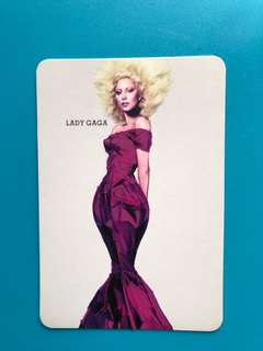 (包郵) Lady Gaga Yes卡 / Yes Card