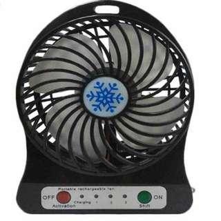 Black Mini Fan