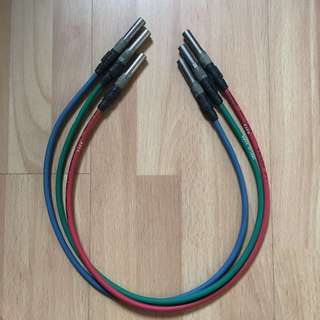 Musa patch cord for digital video