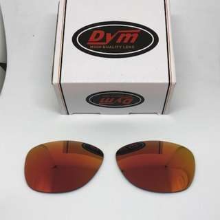 7349f571e9 Frogskins Fire Red POLARIZED Dym Replacement Lenses for Oakley Frogskins  Sunglasses