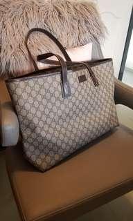 Gucci GG monogram topzip totebag