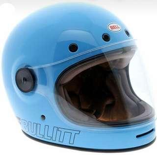 Bell Bullitt Helmet BNIB Retro Blue (Size XXL)