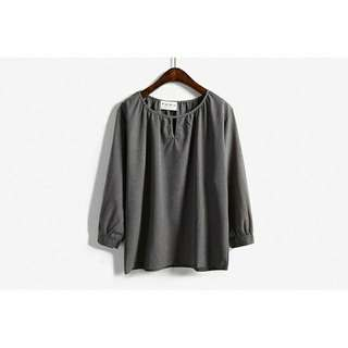 Korean Style Long Sleeve Blouse
