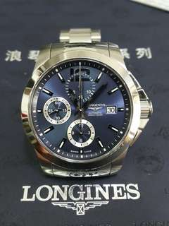 LONGINES CONQUEST blue dial automatic 300m/1000ft 41mm