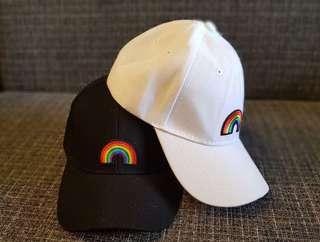 Rainbow Cap - Black