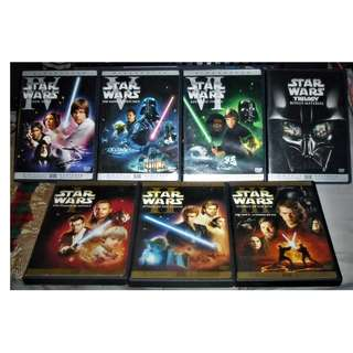 Star Wars DVD Collection Episode 1-6 Region 1