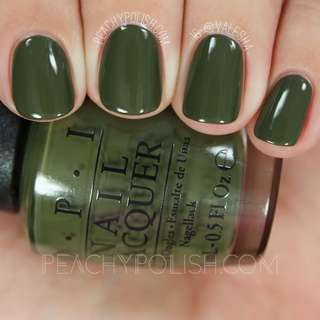 BN OPI Suzi The First Lady of Nails W55