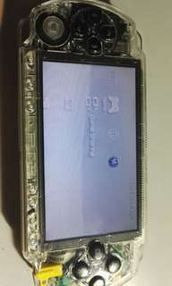 Psp 1000 custome clear case
